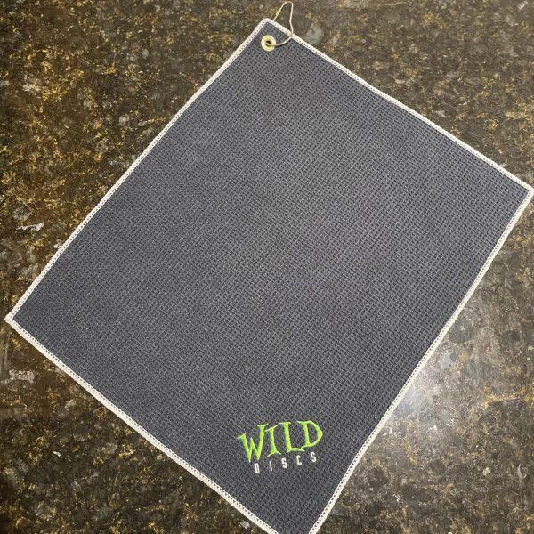Wild Discs Microfiber Waffle Towel