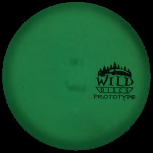 Wild Discs Addax Glow Prototype Plastic