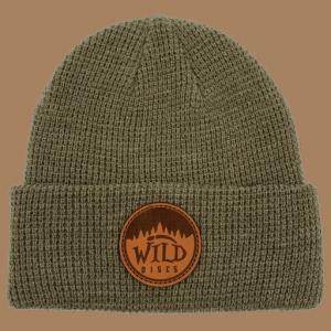 Wild Discs Waffle Knit Beanie